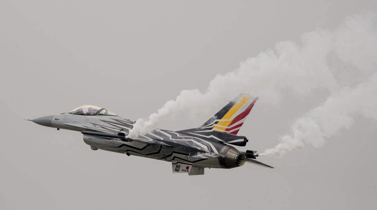 Belgian F-16 Jets to Launch Flying at Air Day 2016