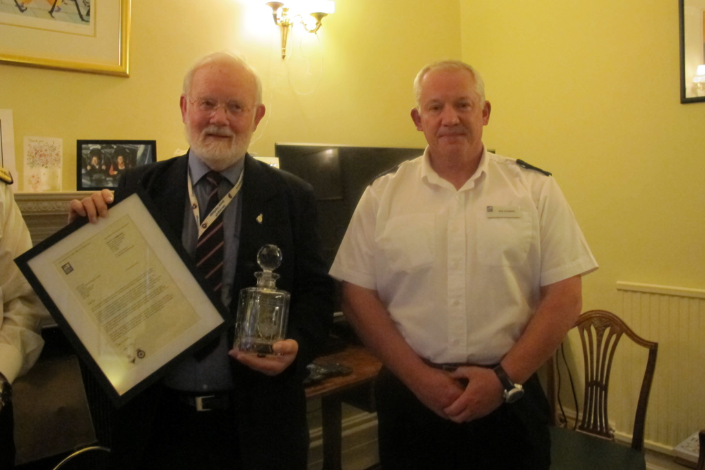 plymouth heritage volunteer commended