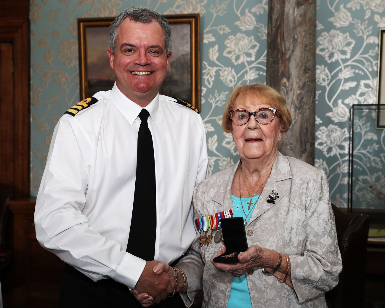 Royal Navy honour Second World War sailor