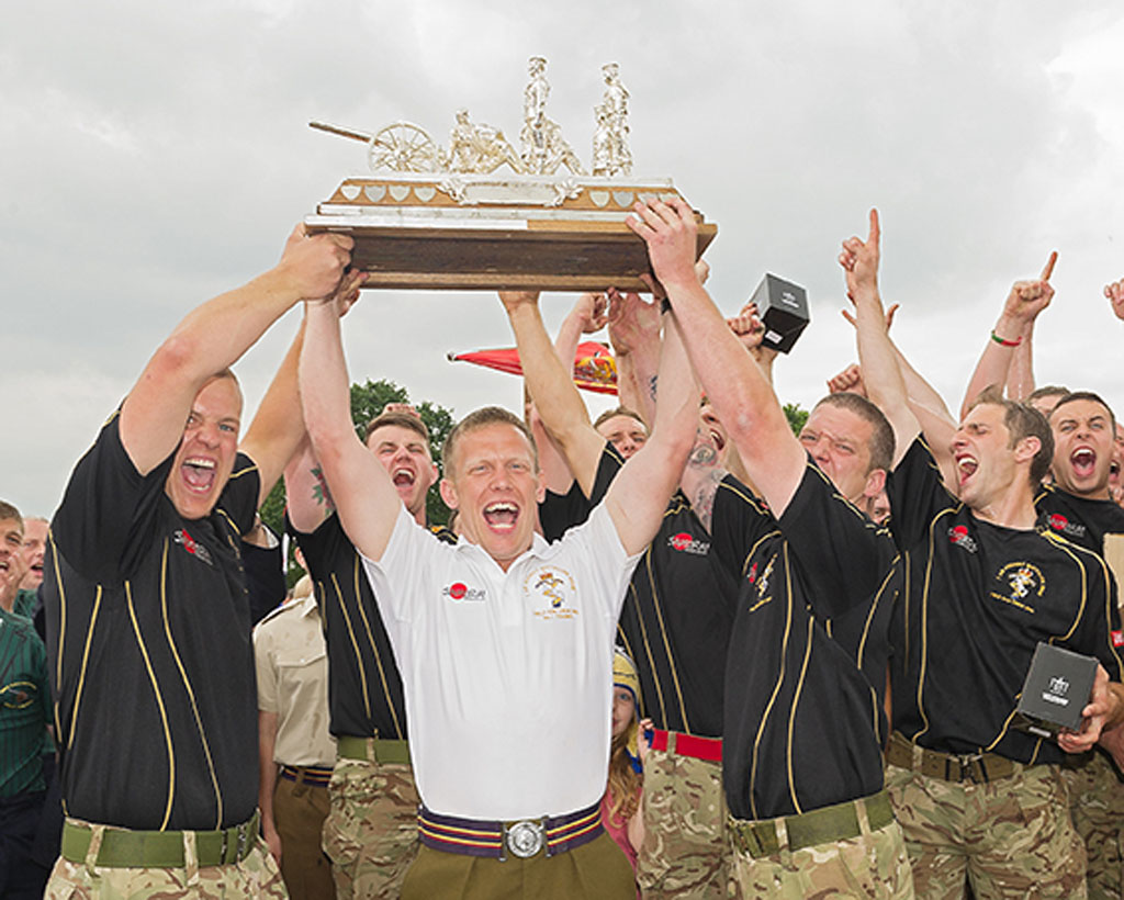 The Current Champions 7 AA Bn REME Will Do All They Can To Hold On Coveted Title