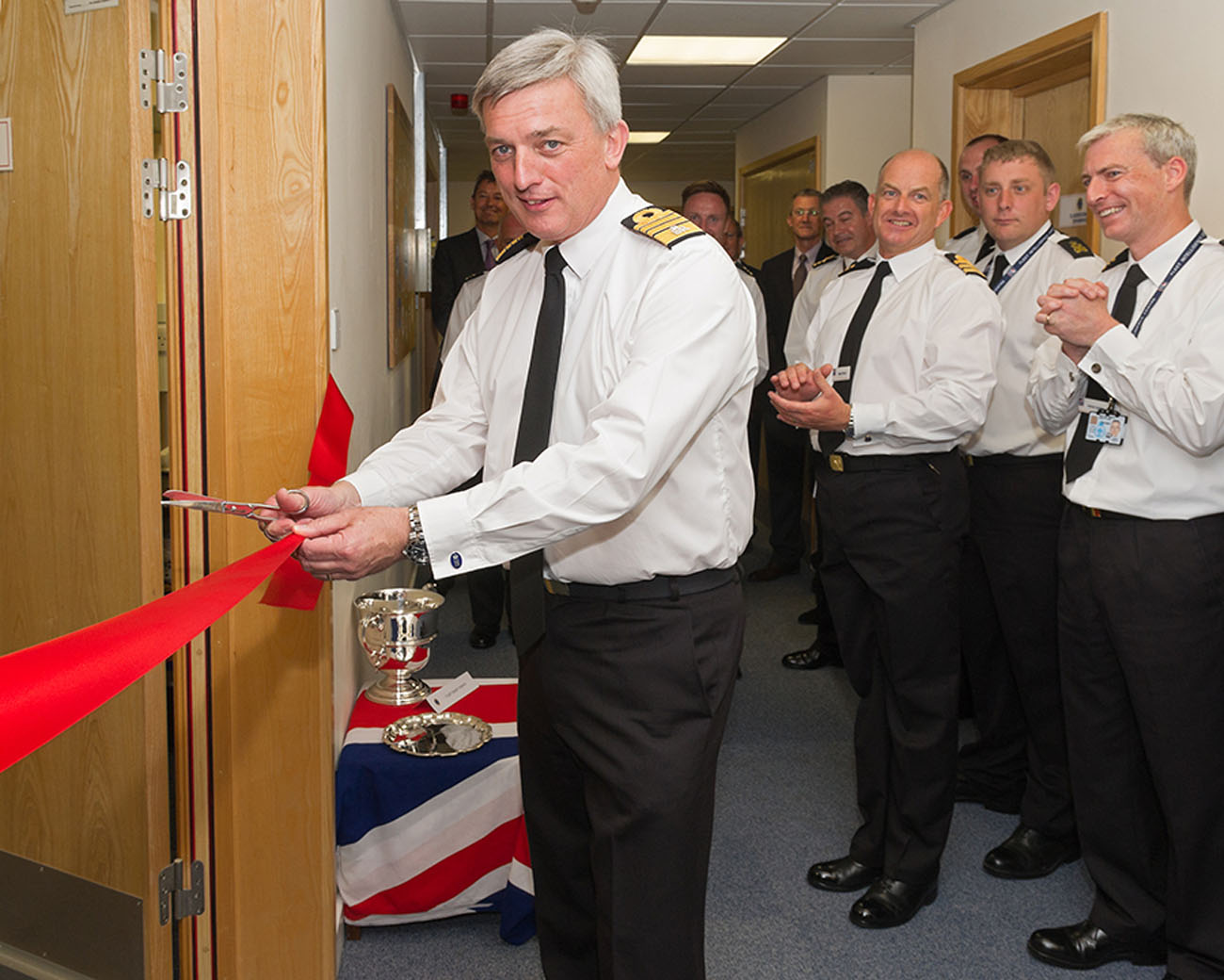 First sea lord opens new training equipment area
