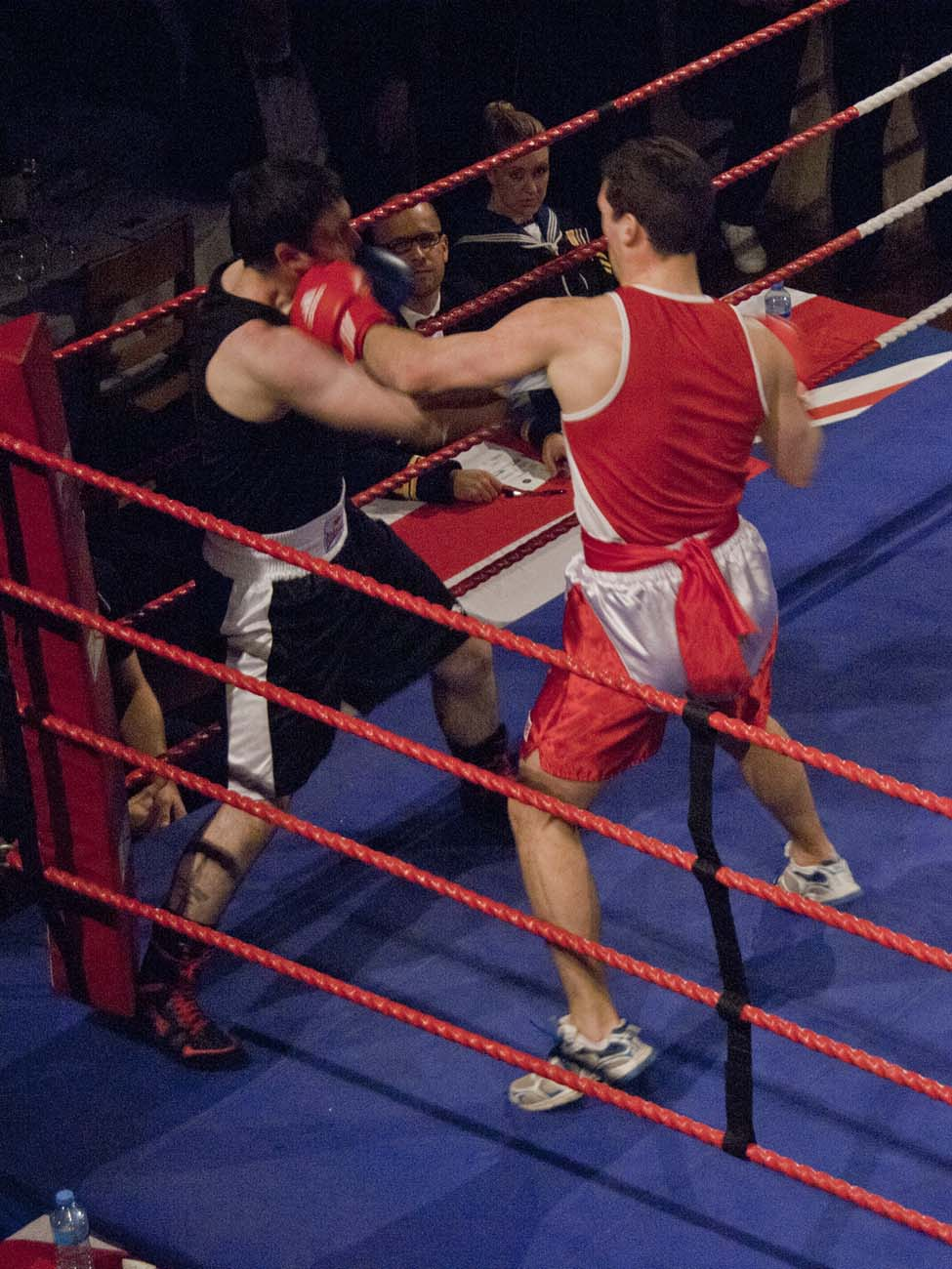 Boxing championships are a knock out success at BRNC