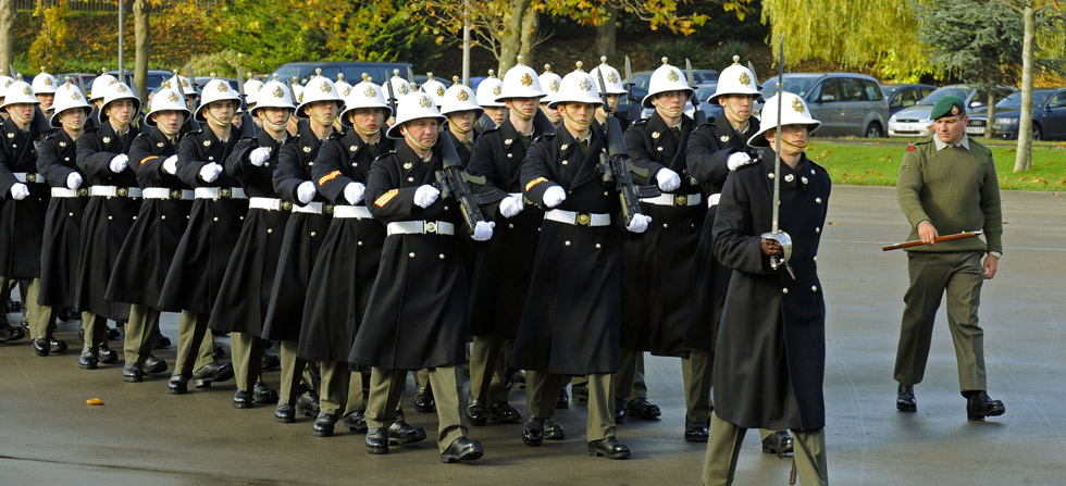 Royal Navy trains for National Remembrance ceremonies ...