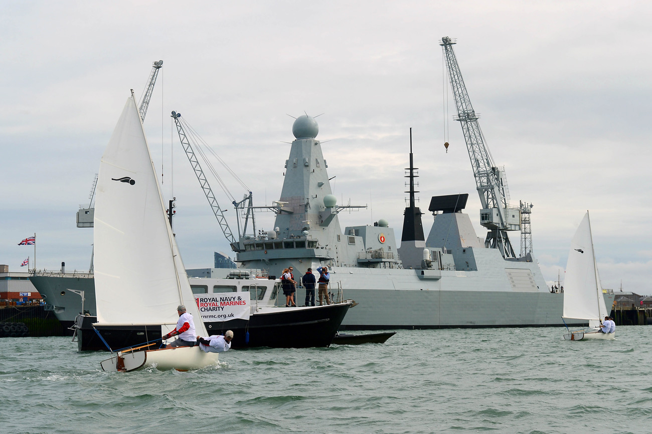 Portsmouth Harbour charity sail raises hundreds for charity