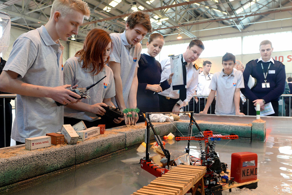 YOUNG ENGINEERS TAKE ON DISASTER RELIEF CHALLENGE
