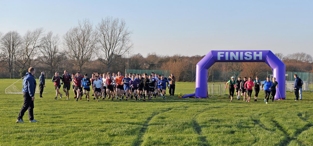Sailors compete for cross country championships