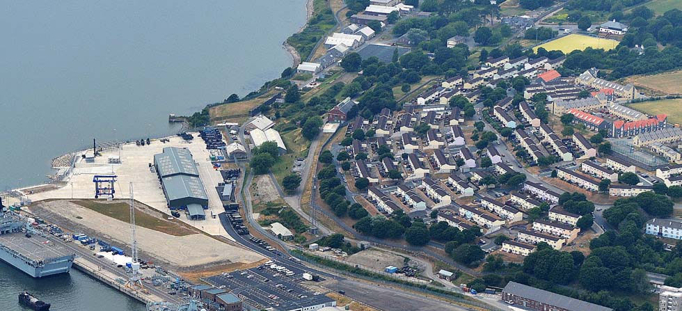 980 x 447 Carousel Sized Image of Devonport Dockyard featuring St Budeaux Bull Point SFA